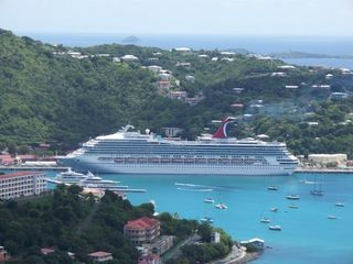 Exotic vacation cruise carnival